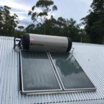 Planet home Sunshine Coast ENvirosun solar hot water installation