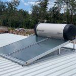 Envirosun solar hot water plonk for the Sunshine Coast Roonsleigh builders