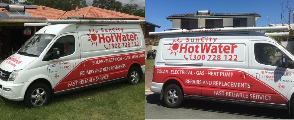 SunCity solar hot water heaters, rheem hot water systems Sunshine Coast